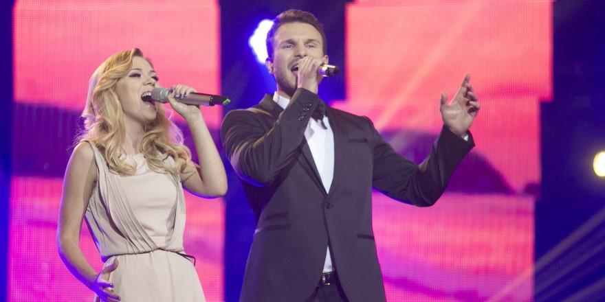 Lithuania Eurovizijos 2015 Monika & Vaidas