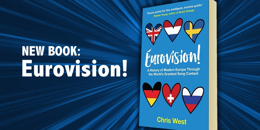 New book 2017: Eurovision!