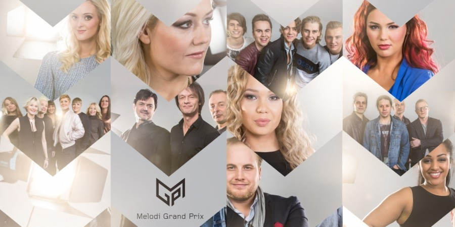 Norway 2016: Melodi Grand Prix artists