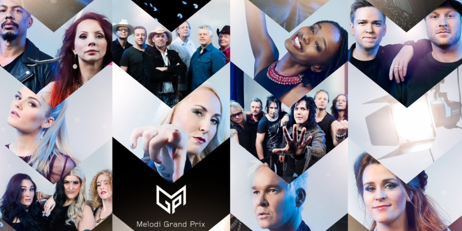 Norway: Melodi Grand Prix 2017 participants