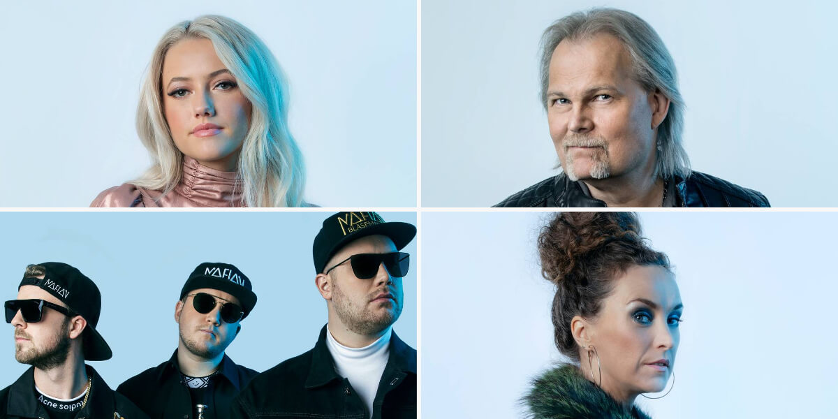 Norway MGP 2021: Heat 1 artists