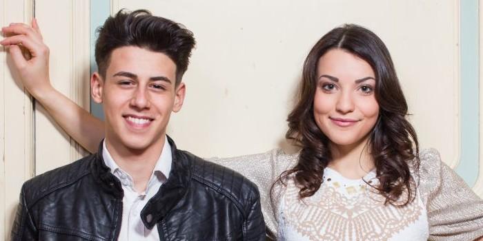 San Marino 2015: Anita Simoncini and Michele Perniola