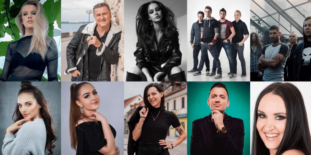 Slovenia EMA 2020 artists