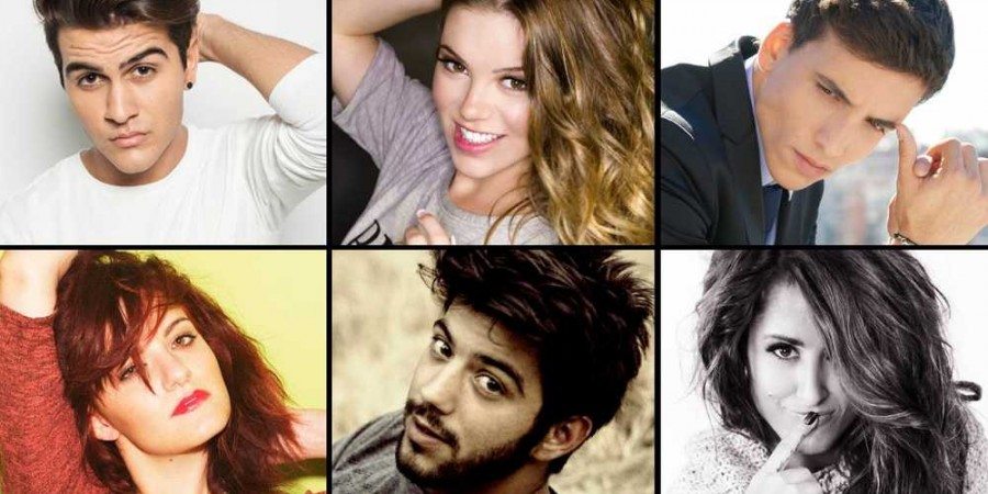 Spain 2016: Six contestants