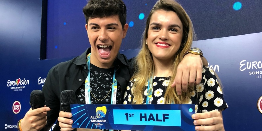 Spain 2018: Amaia & Alfred draw