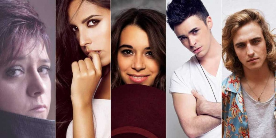 Spain Objetivo Eurovisión 2017: The five prequalified finalists