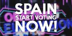 Spain Start Voting Now Objetivo Eurovisión