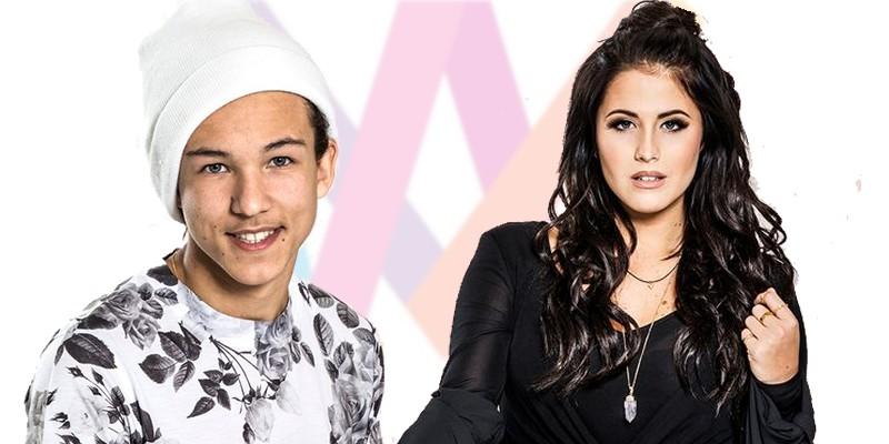 Sweden 2016 Melodifestivalen Deltävling 4 Frans & Molly