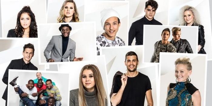 Sweden 2016 Melodifestivalen Finalists
