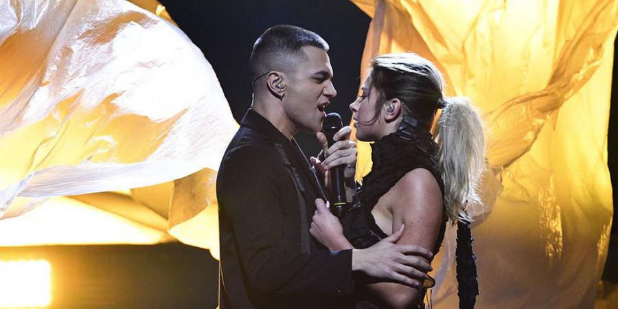 Liamoo: Sweden Melodifestivalen 2019: Hanna Ferm/LIAMOO And Malou