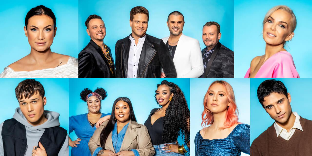 Sweden 2021: Melodifestivalen Heat 4 participants