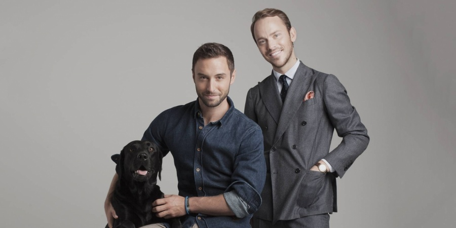 Sweden: Måns Zelmerlöw and Alexander Wiberg host of Chevaleresk