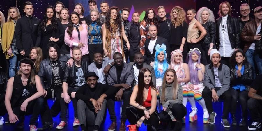 Sweden Melodifestivalen 2016 participants