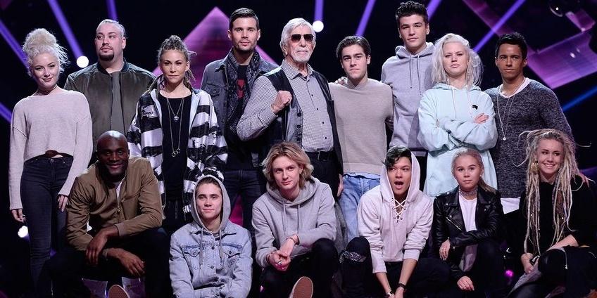 Sweden Melodifestivalen 2017 Finalists