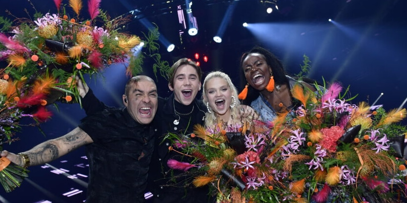 Sweden Melodifestivalen 2018 Second Chance winners