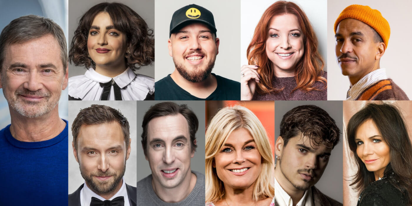 Sweden Melodifestivalen 2021: Hosts