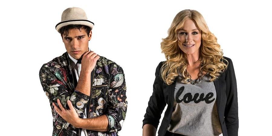 Sweden Melodifestivalen 2015 Eric Saade & Jessica Andersson