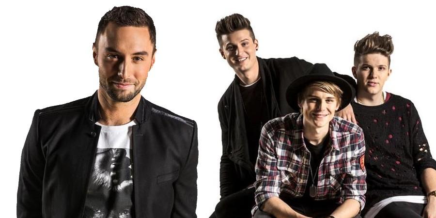 Sweden Melodifestivalen 2015 Måns Zelmerlöw & JTR