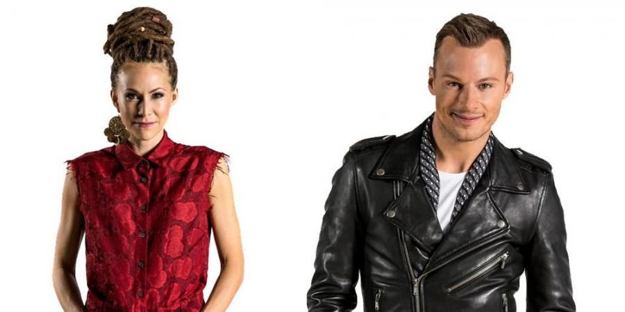 Sweden Melodifestivalen 2015 Mariette & Magnus Carlsson