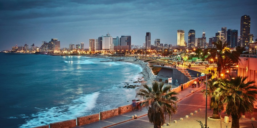 Tel Aviv by night