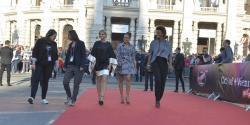 The 3 hosts of the shows: Alice Tumler, Arabella Kiesbauer & Mirjam Weichelbraun