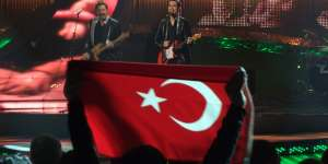 Turkey: Flag at Eurovision