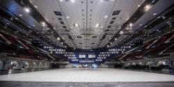 Wiener Stadthalle is empty and ready for ORF to begin building bridges